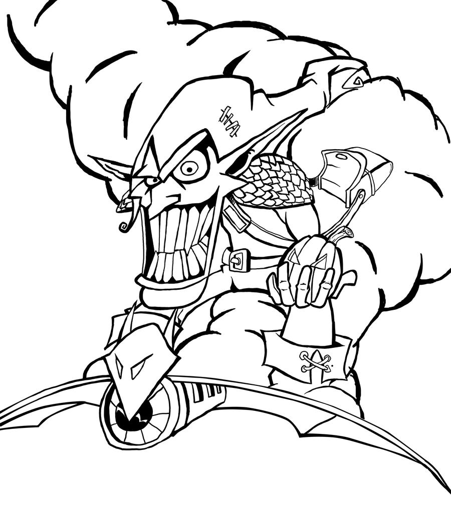 green goblin coloring pages - photo#24
