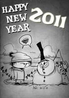 Happy New Year 2011 by JordiHP