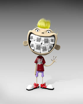 3D Smile from Skottie Young