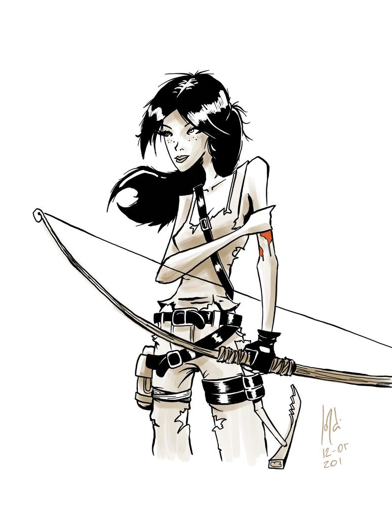 Lara Croft by JordiHP