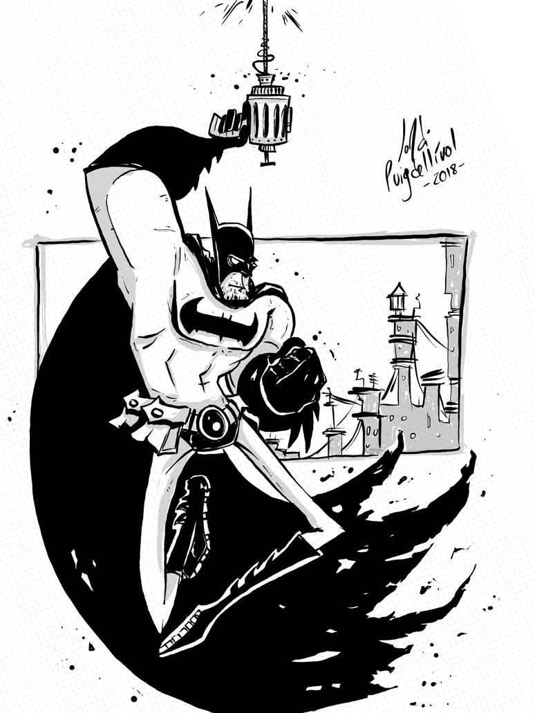 Batman Hanged by JordiHP