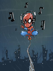 Spider headphones by JordiHP