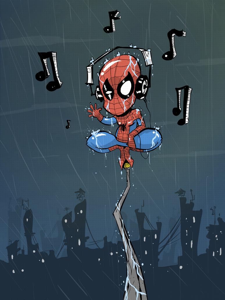 Spider headphones by JordiHP