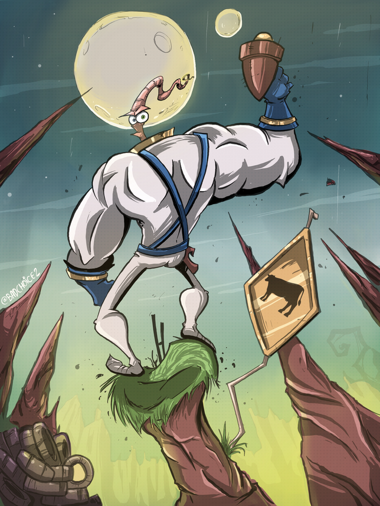 Earthworm Jim by JordiHP