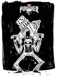 Punisher by JordiHP