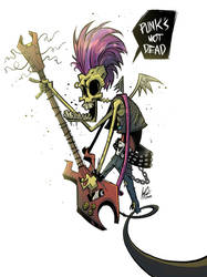 Punks not dead by JordiHP