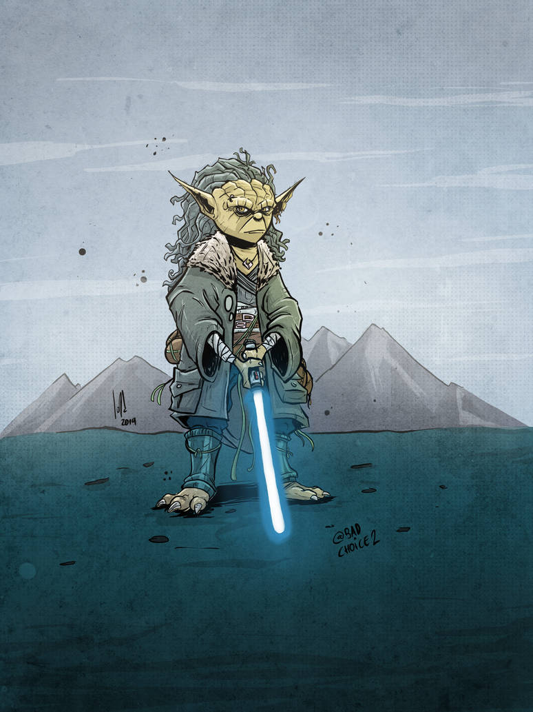 Young Yoda by JordiHP