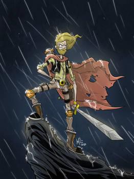 Rainy Warrior