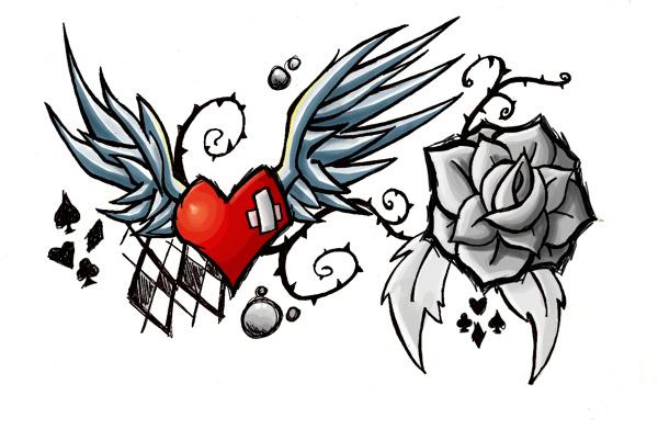 Tattoo 2 is er een over mn voet die naar mn enkel loopt met een vlinder en