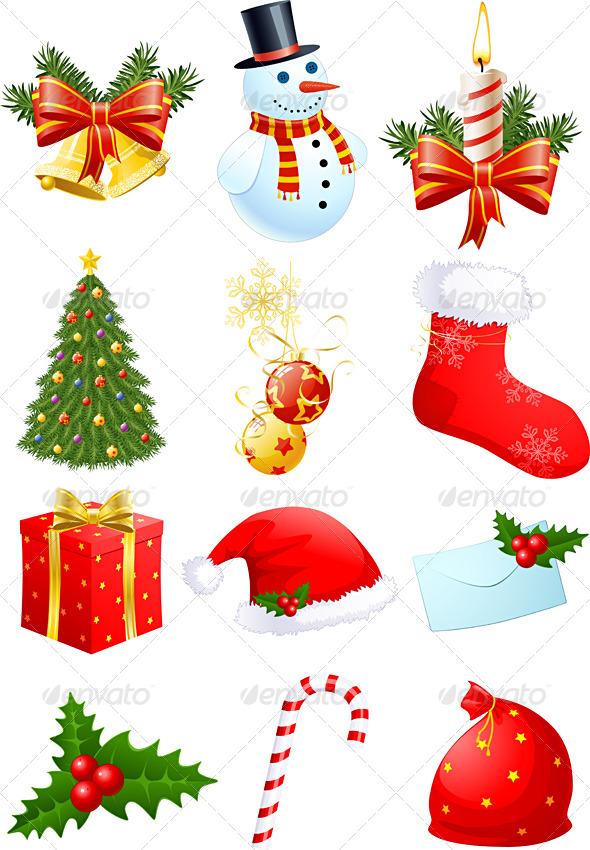 Christmas Symbols By Freeiconsfinder On Deviantart
