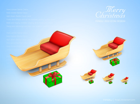Merry Christmas Icons by FreeIconsFinder