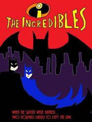 Incredibles-Batman Poster, V-2 by MetroXLR