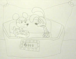 Mickey n Oswald on a Game Show by MetroXLR