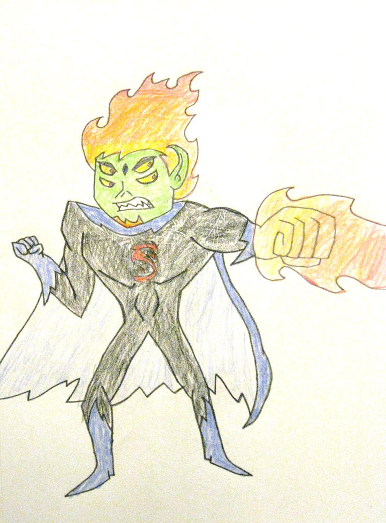 Adult Trigon Beast Boy by MetroXLR99