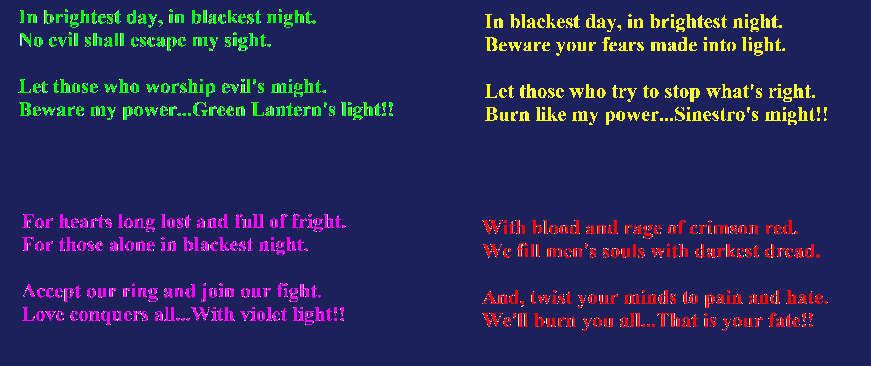 Violet Lantern Oath