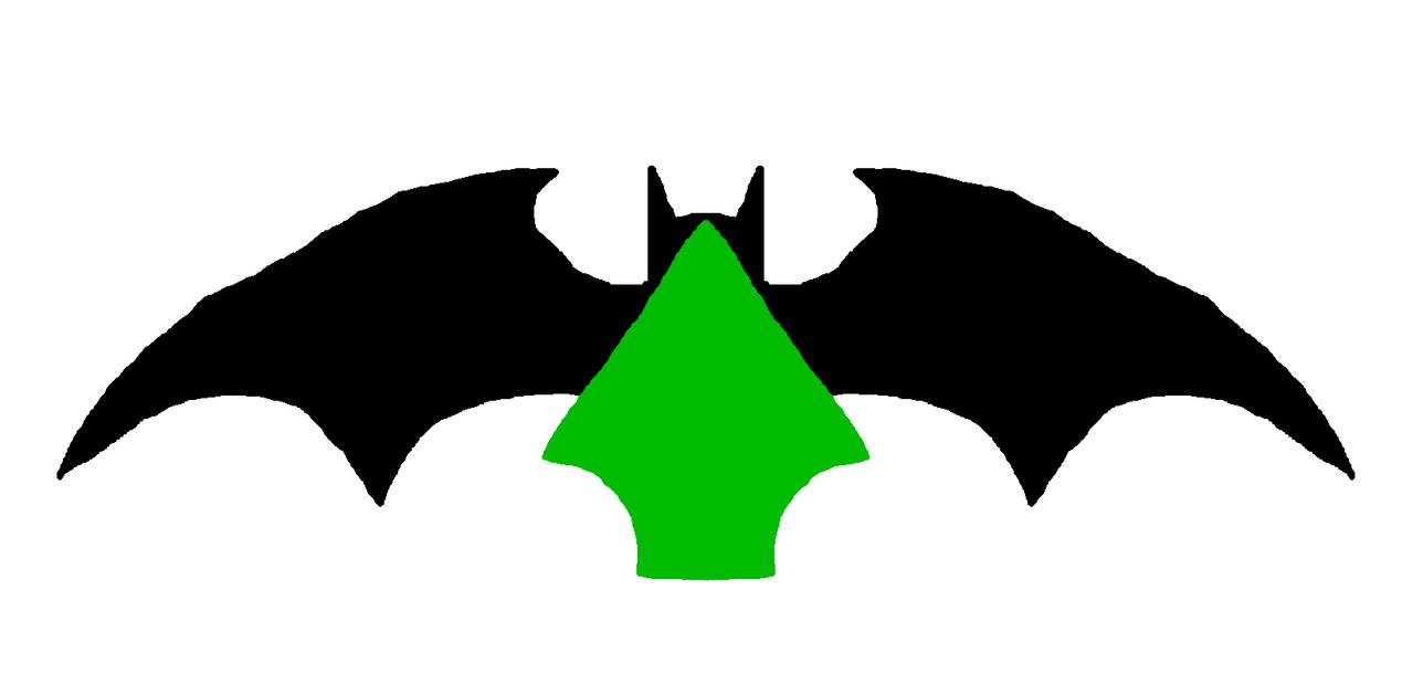 Batman Green Arrow Symbol Rough Art By Metroxlr On Deviantart