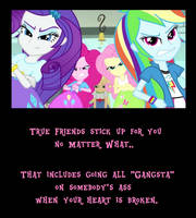 Friendship Motivational III by MetroXLR
