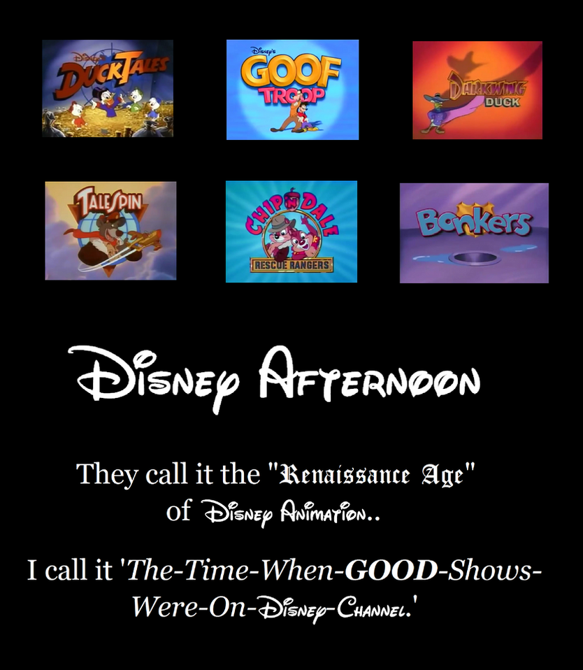 Disney Afternoon Motivational by MetroXLR99
