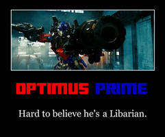 Optimus Prime Motivational by MetroXLR