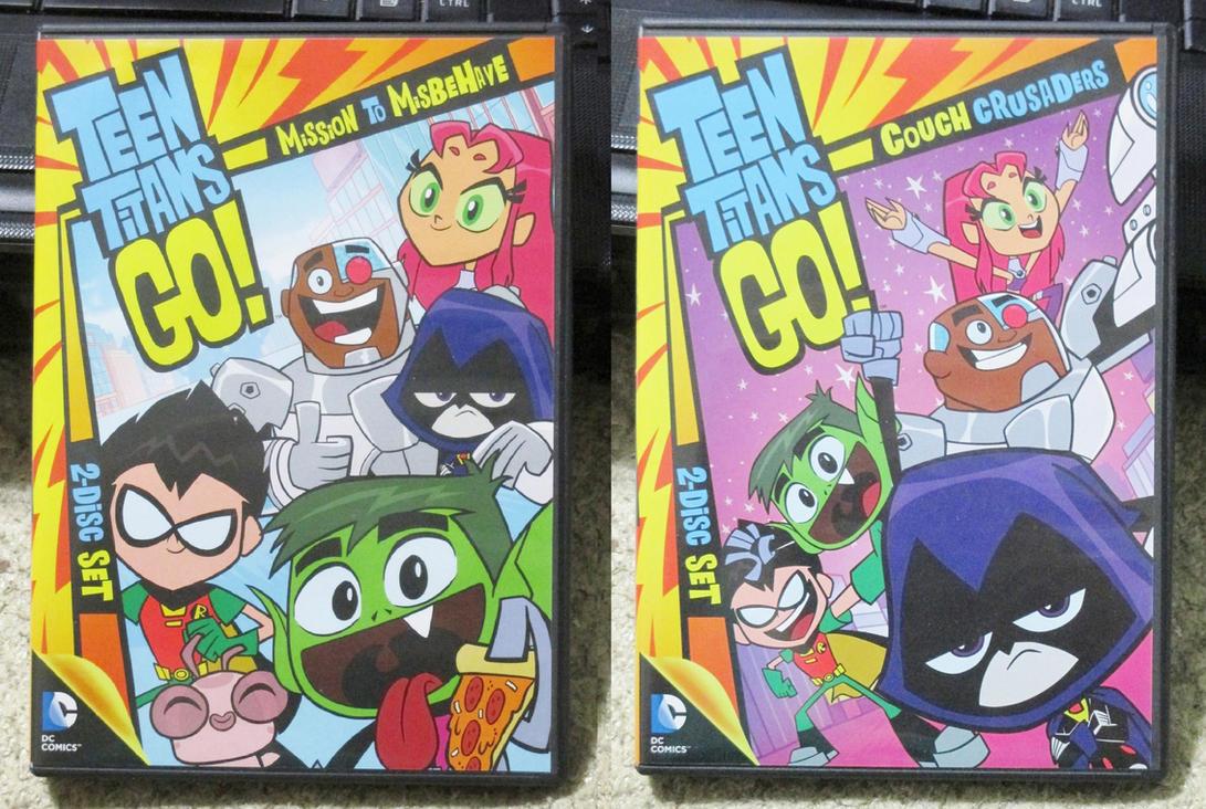Teen Titans Go, Season One DVDs by MetroXLR99