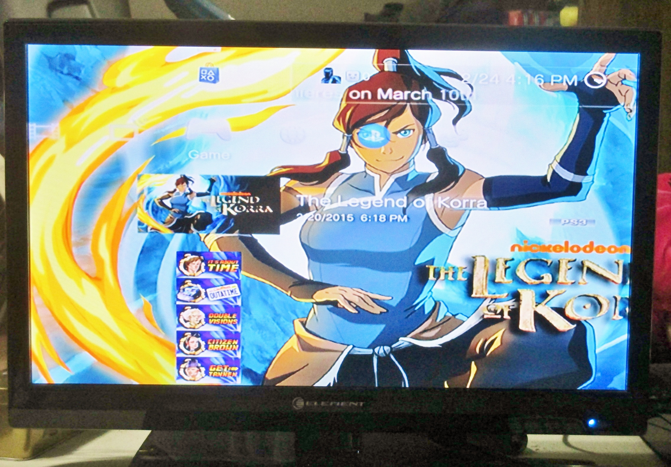 The Legend of Korra Character Theme on PS3 | Official ...