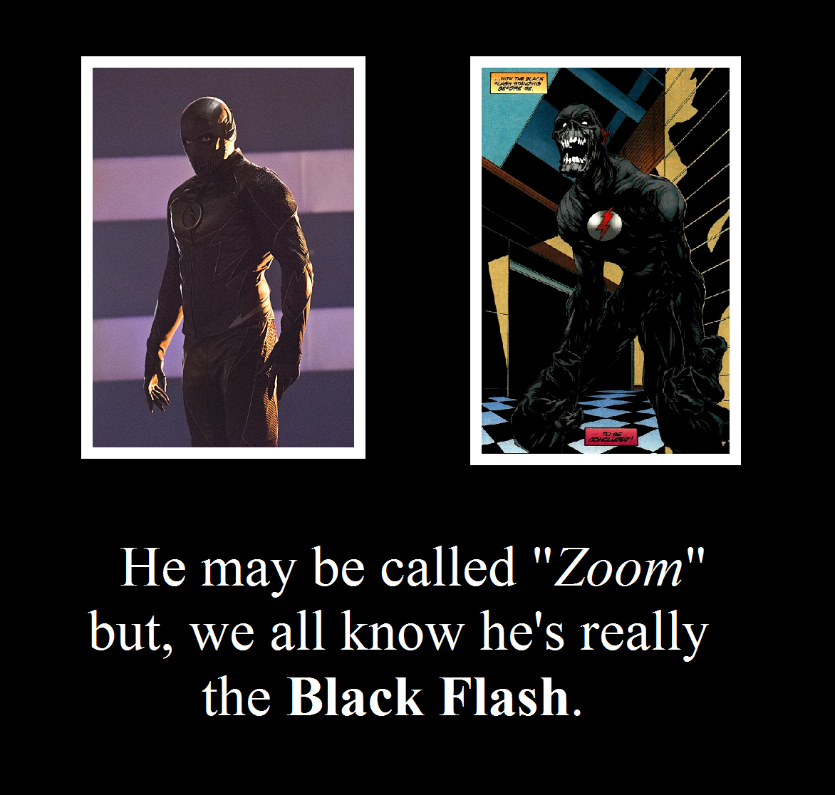 Cw Zoom Black Flash Motivational By Metroxlr On Deviantart