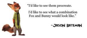 Jason Bateman on a NickxJudy Sequel