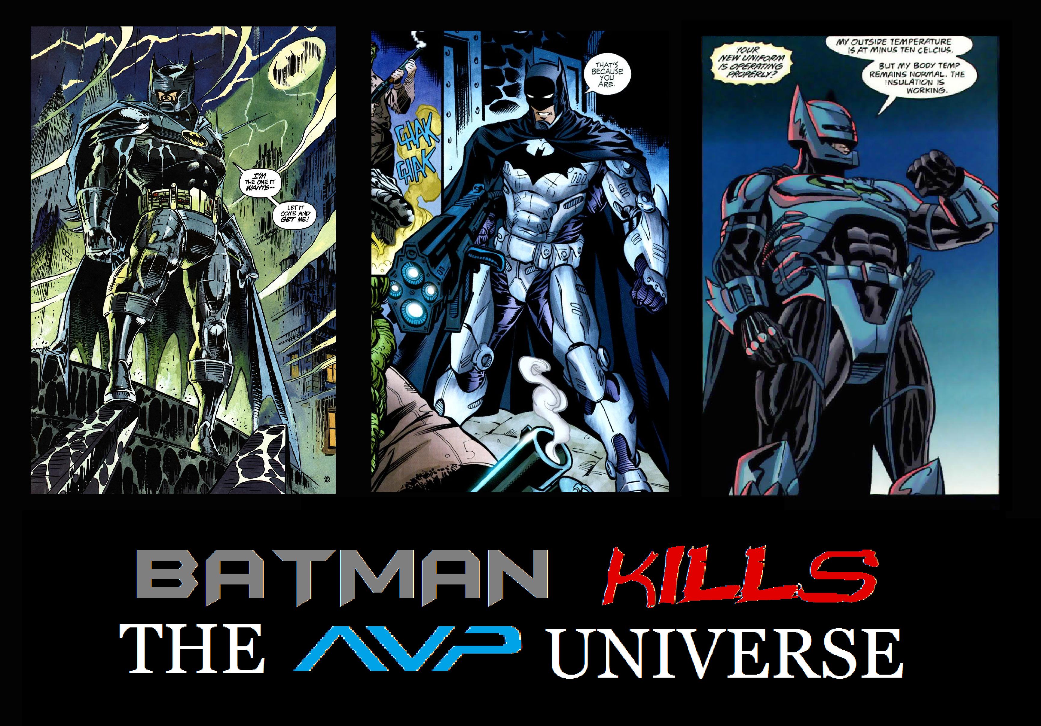 batman vs alien by - photo #17