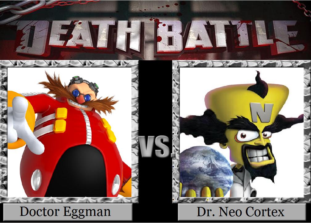 Death Battle Eggman Vs Cortex By Metroxlr On Deviantart