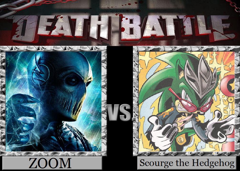 Death Battle Zoom Vs Scourge By Metroxlr On Deviantart