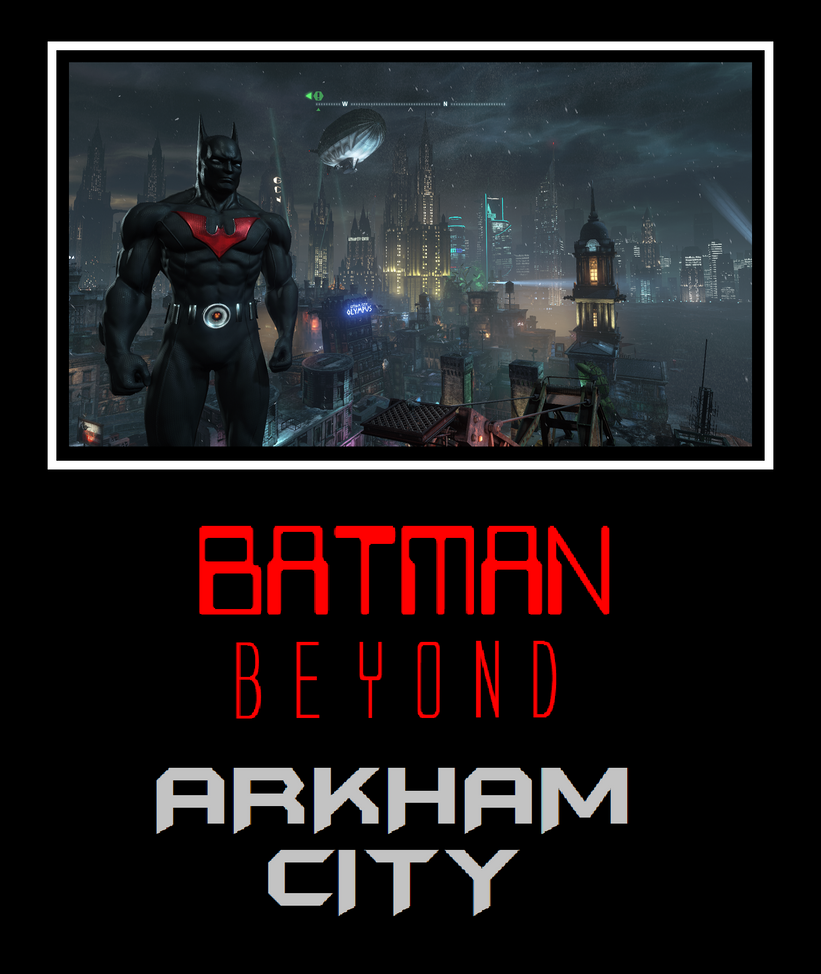 batman beyond arkham city motivational by metroxlr on