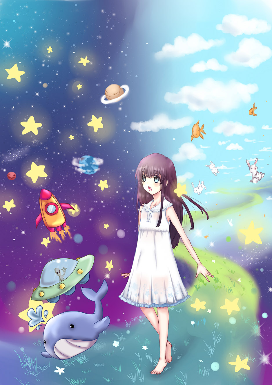 Dream. by kichikutie23