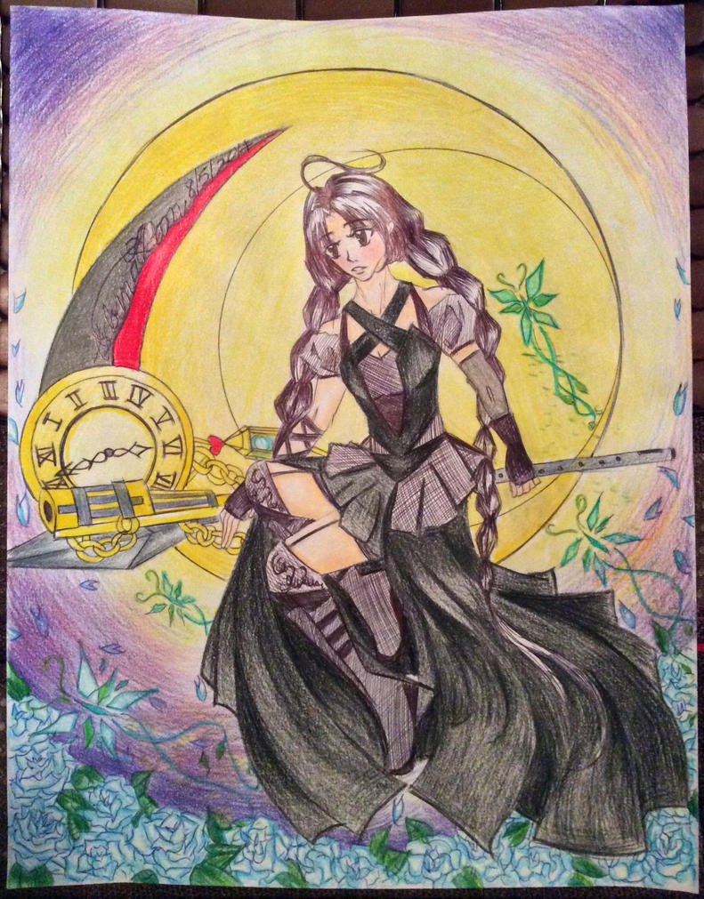 Curse Grim Reaper Mikkira by SabrinaHeart