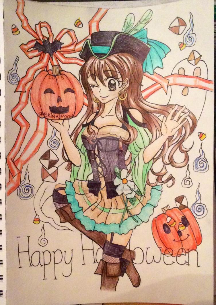Happy Halloween 2015 by SabrinaHeart