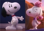 Snoopy and Fifi are lover birds in the whole world