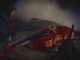 Violin by tylerleejewell