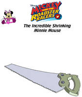 The Incredible Shrinking Minnie Mouse (1) by tylerleejewell