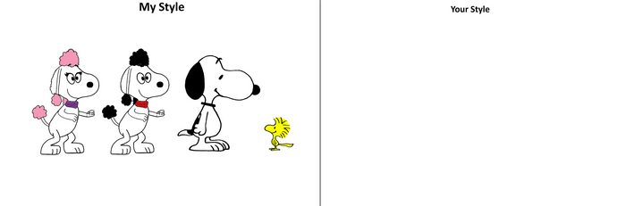 My Style VS Your Style: Snoopy and Friends