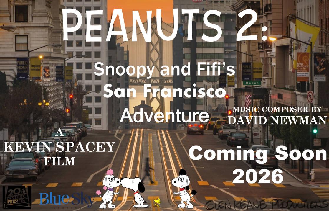 Fan art of final Peanuts movie sequel poster