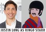 Justin Long as Ringo Starr