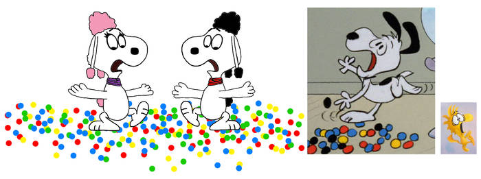 They slipped the gumballs just like marbles