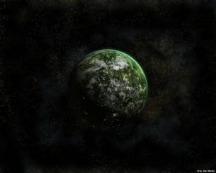 Green Planet by sanmonku