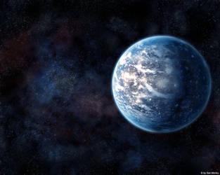 Ice Planet by sanmonku