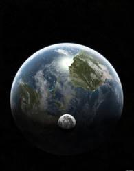 Earth-Again by sanmonku