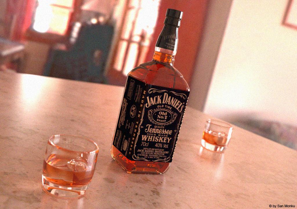 Jack Daniels-indigo by sanmonku