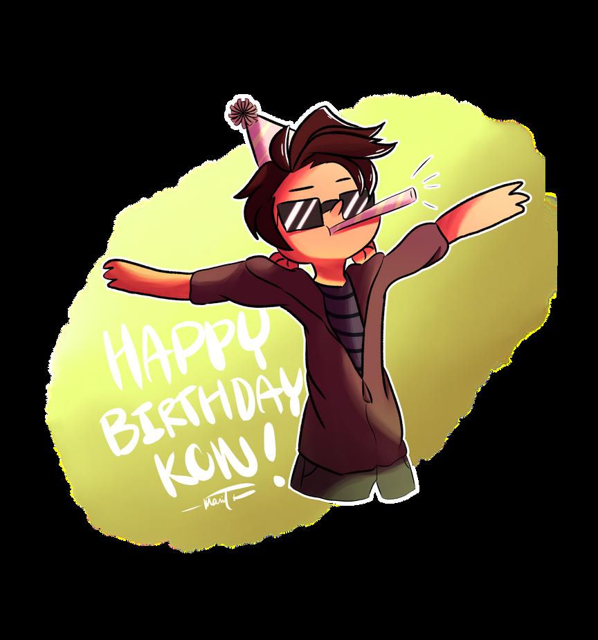 Happy Birthday Kon! By PikatsuTran On DeviantArt