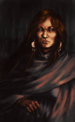 Catelyn Stark by magajaga