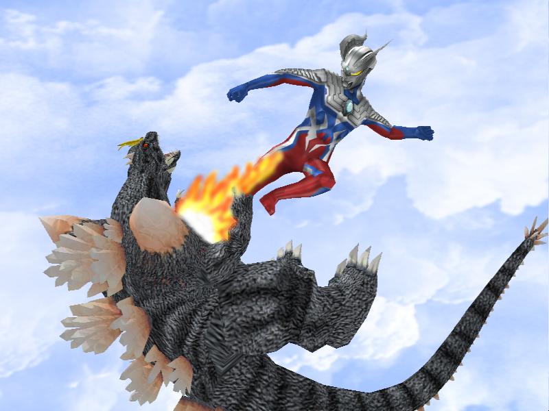 Ultra Zero kick by Gorosaurus65