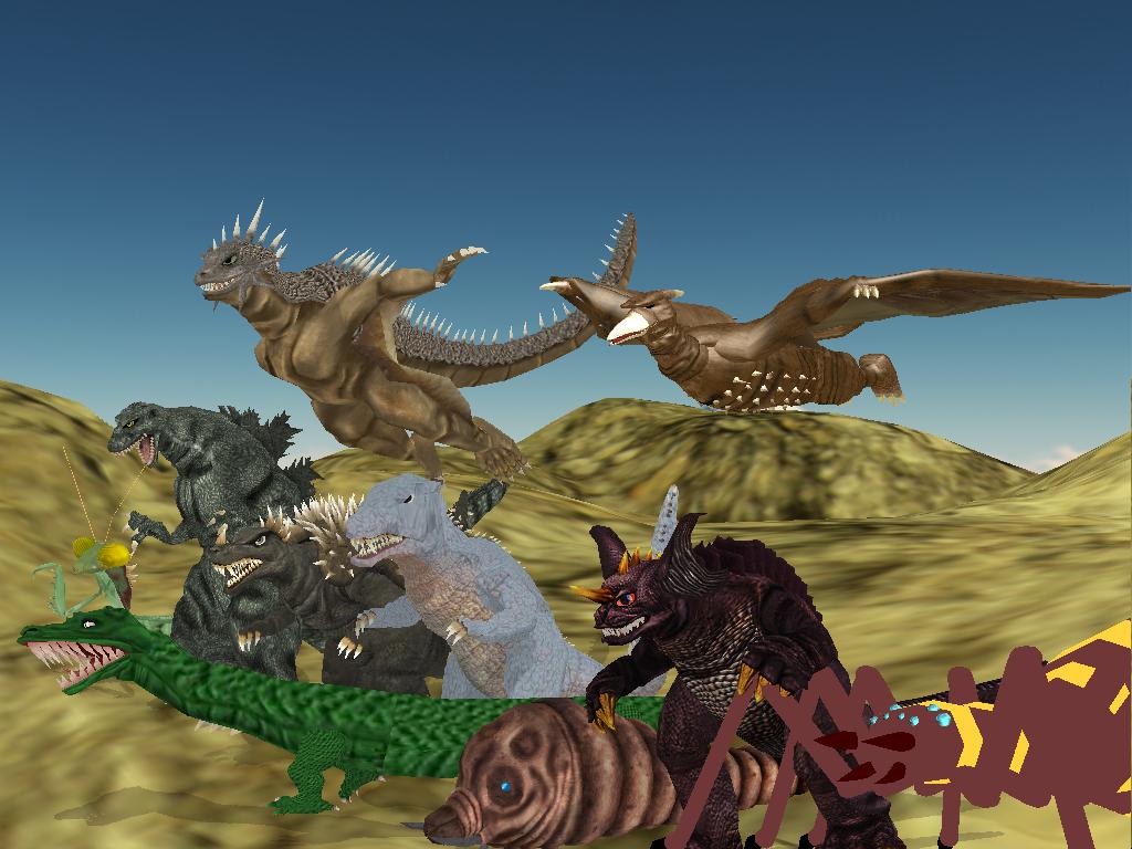 Monster island Strike force by Gorosaurus65