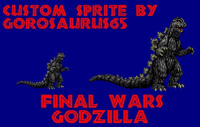 Custom Final Wars Godzilla by Gorosaurus65